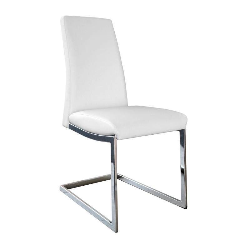 Silla de comedor minimalista tapizado ecopiel muambi - Tapizado de silla ...