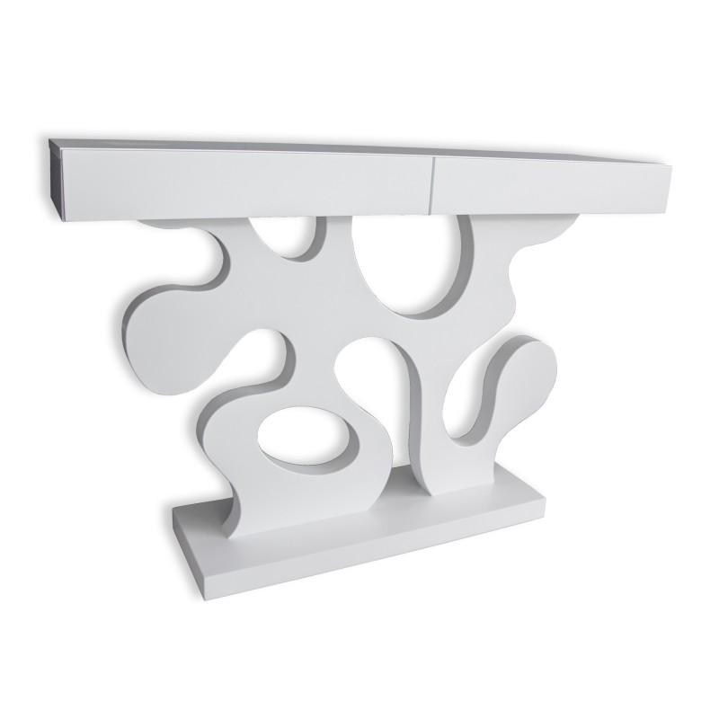 consola estilo moderno xuxcm color blanco