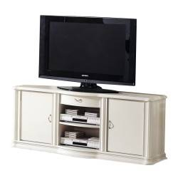 Mueble tv retro, color: beige