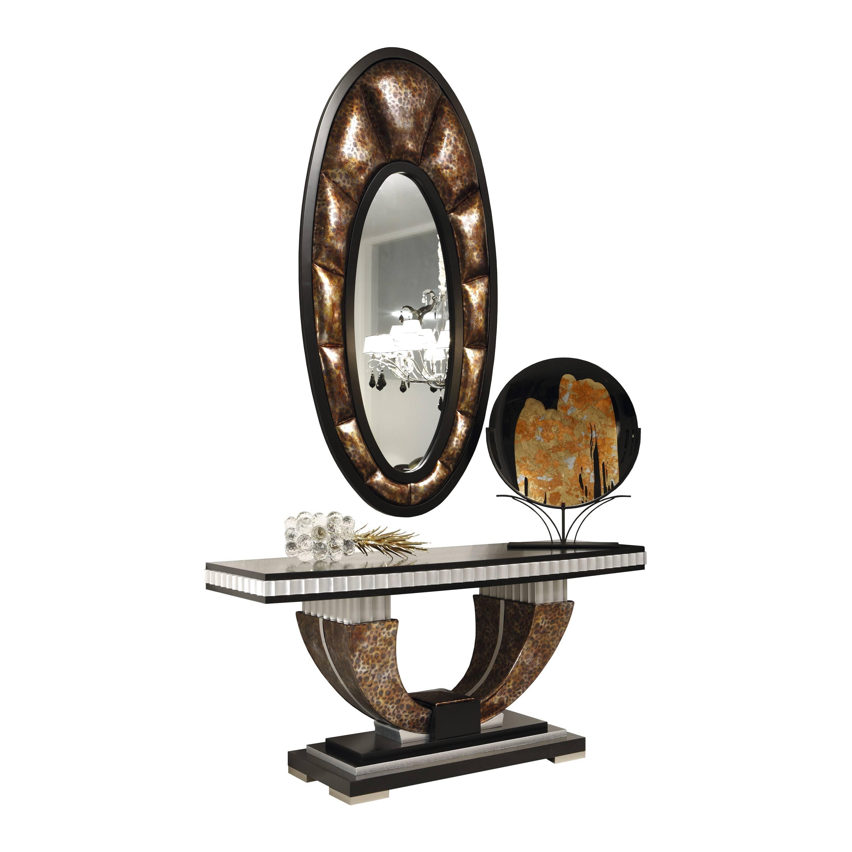 Recibidor Vintage Con Espejo Y Caj N Blanco Roto Mobles Sedav  # Muebles Sedavi Actual
