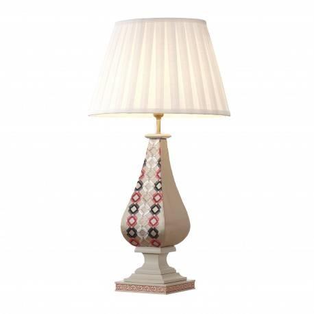 Lámpara de sobremesa exclusiva, tapizado: Mosaic