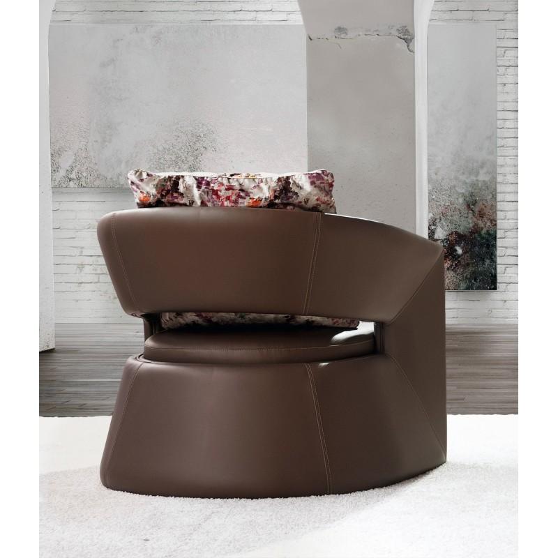 Sill n exclusivo moderno con cabezal color tostado muambi for Color tostado pared