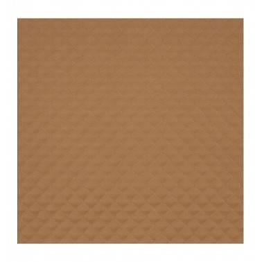 Escritorio moderno tapizado, color: marrón y oro