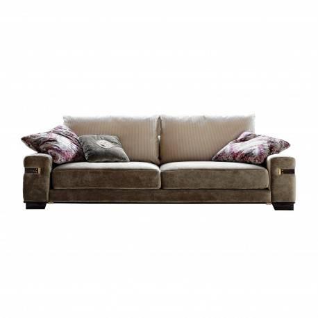 Sofá 3 plazas moderno exclusivo, tapizado