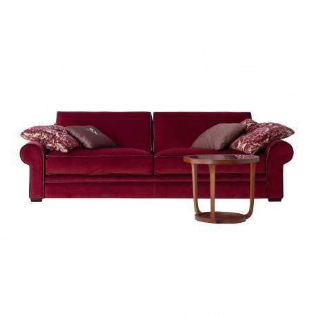 Sofá 3 plazas moderno exclusivo, tapizado: rojo