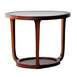 Mesa rincón moderna exclusiva, color: cerezo