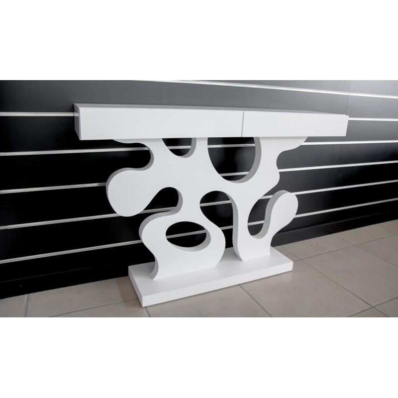 Recibidor con espejo estilo moderno 120x220x30cm color - Recibidor moderno blanco ...